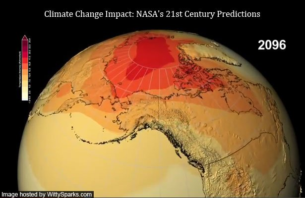 NASA's time lapse narrates the story of earth's degradation!