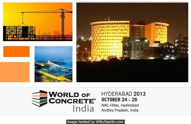 World of Concrete India 2013