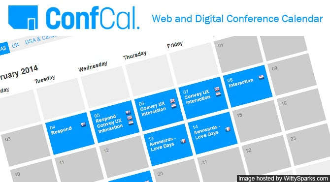 ConfCal - A simple web and digital conference calendar