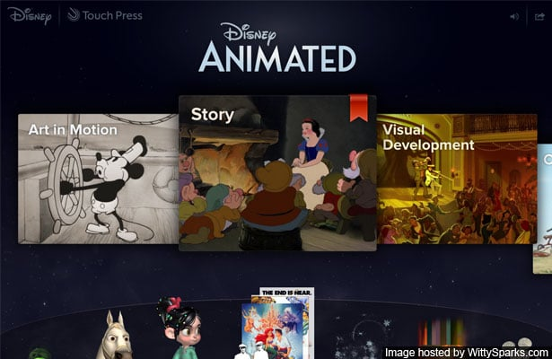 Disney Animated - a wonderful Christmas gift from Apple!