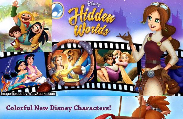 Help your favorite Disney story unfold with Disney Hidden Worlds!