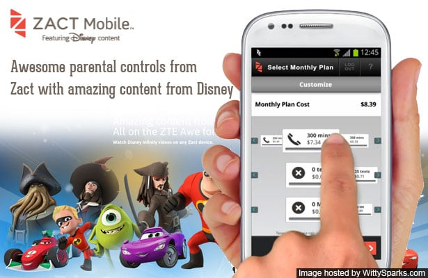Zact phones for your Kids with parental contols