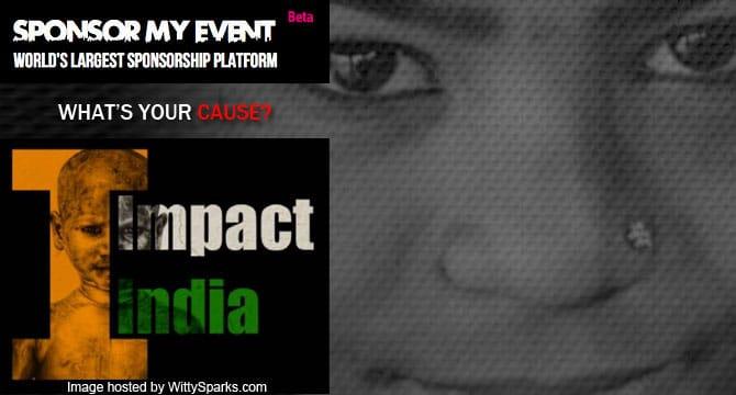 Impact India: Sponsor My Event