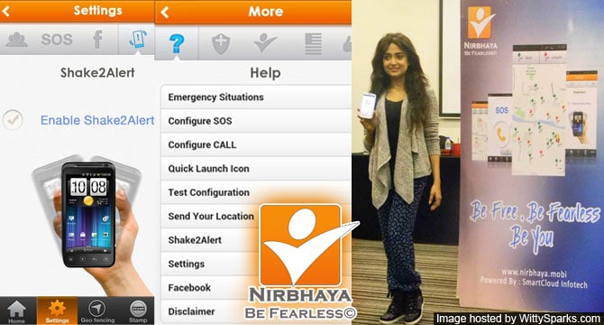 Nirbhaya - An initiative to make everyone fearless outside their home!