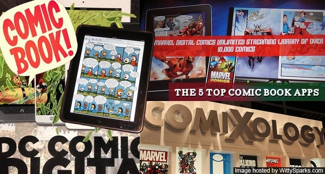 Top 5 Comic Book Apps
