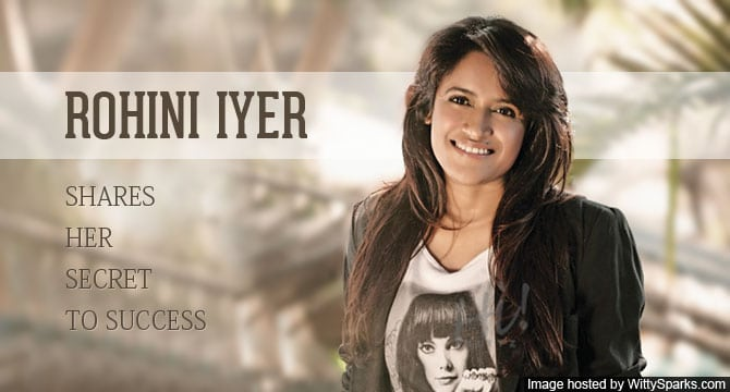 Rohini Iyer, the owner of Raindrop Media, shares her secret to success!
