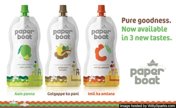 Paper Boat Drinks - Aam Panna, Golgappe, Imli