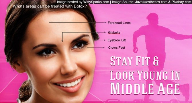 Stay Fit and Look Young in Middle Age