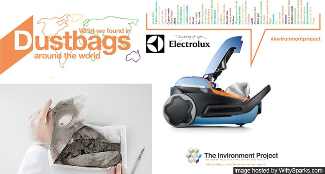 Dustbags - Electrolux The Invironment Project