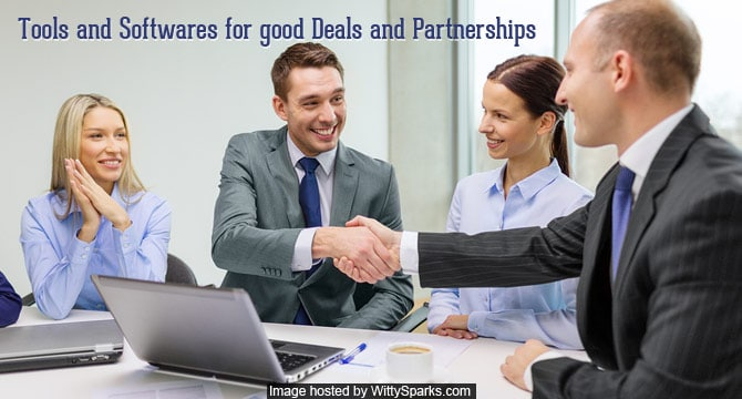 Startup Tools and Softwares for Good Deals and Partnership