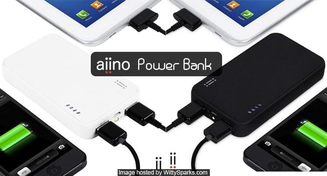 Aiino power bank or external battery