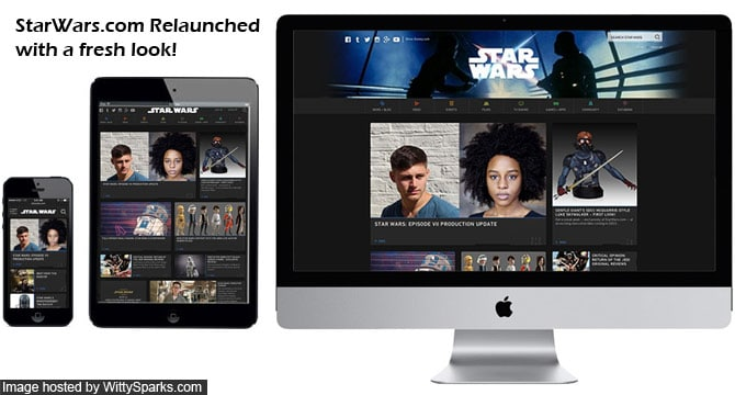 Starwars.com Relaunched