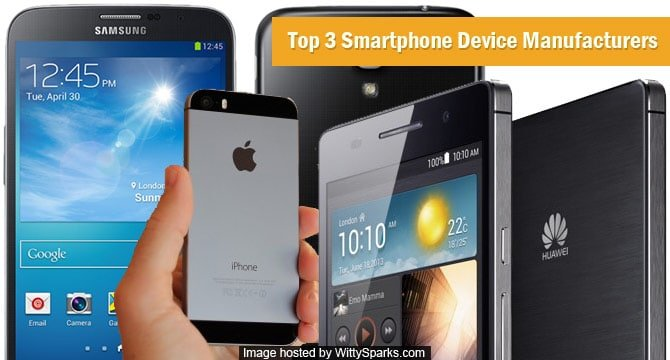 Top Smartphone Device Manufacturers