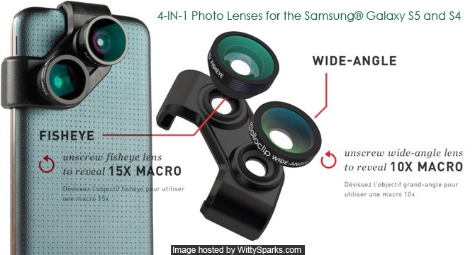 olloclip Introduces 4-IN-1 Photo Lenses for the Samsung® Galaxy S5 and S4