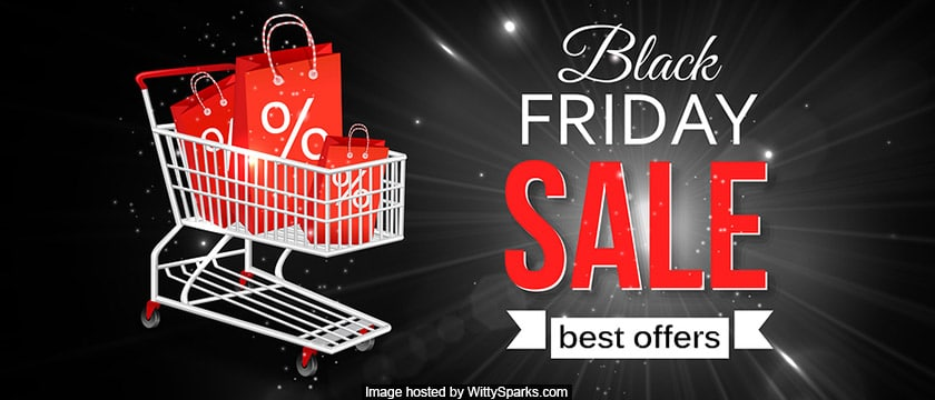 Black Friday Deals or Sale or Offers - shopping