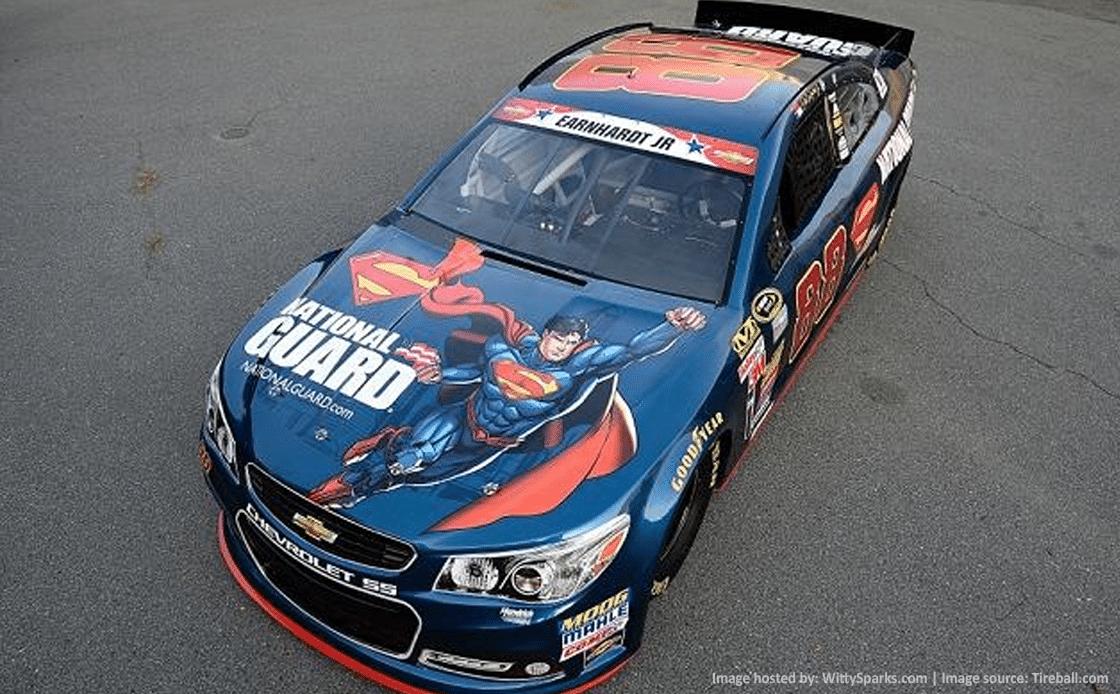 Dale Earnhardt Jr's New Superhero Car