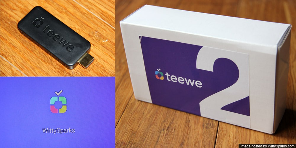 Teewe 2 - Streaming HDMI Dongle
