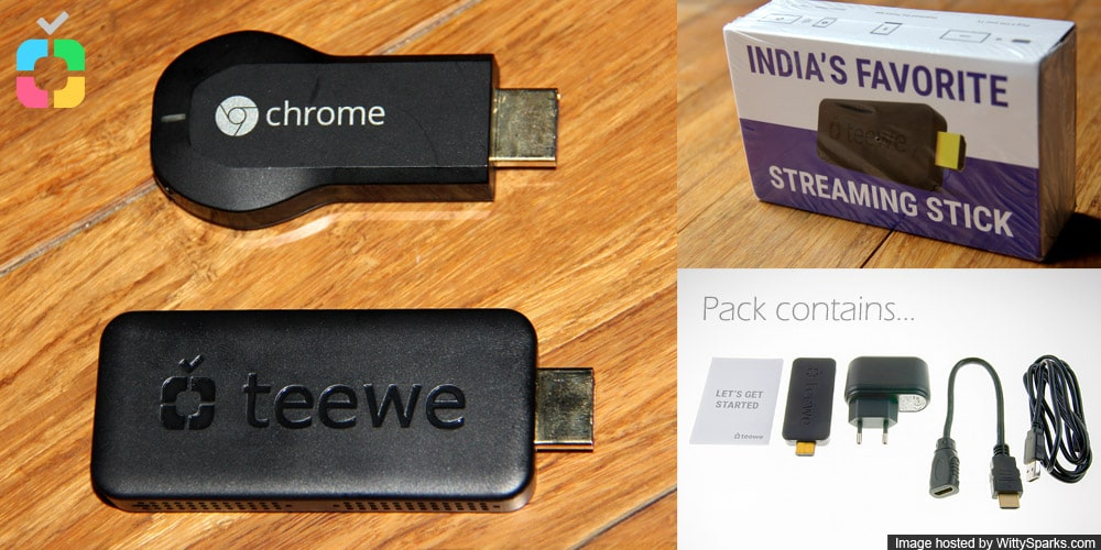 Teewe vs Chromecast - Streaming Media Players