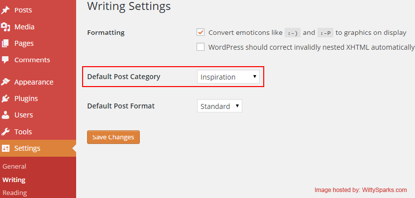 Deleting Default Category - WordPress
