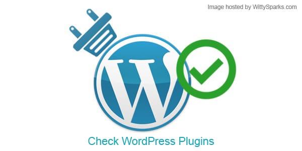 Cross-Check WordPress Plugins
