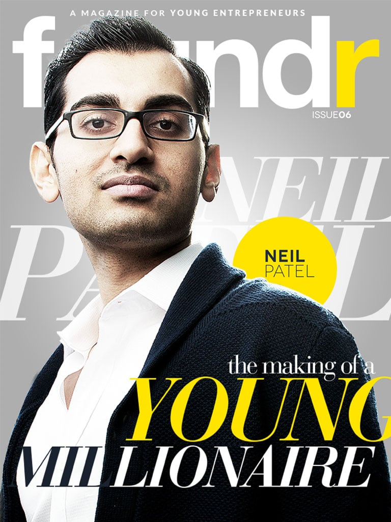 Neil Patel on Foundr - Entrepreneur Magazine