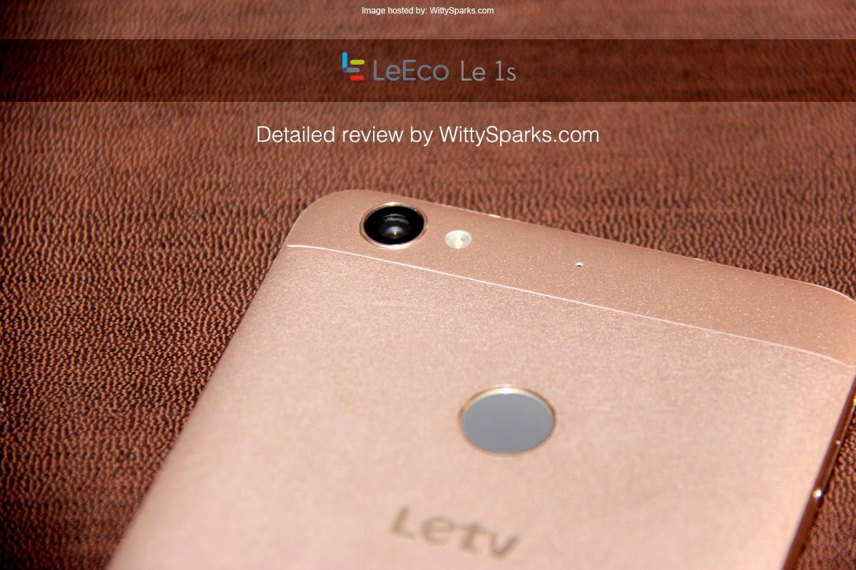 LeTv LeEco Le 1s Camera Review