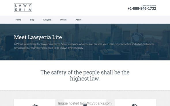 Laweria - Business WordPress Theme