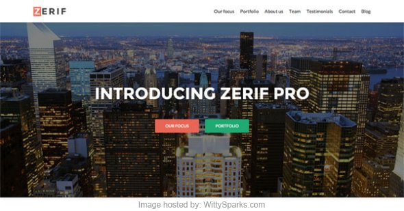 Zerif Pro - Business WordPress Theme