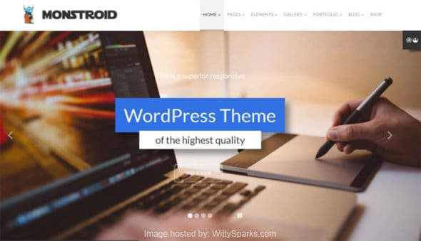 Monstroid - Business WordPress Theme
