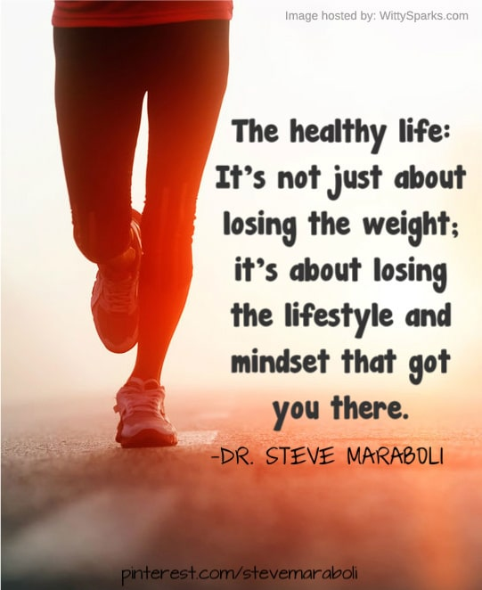 Lose the lifestyle that made you fat