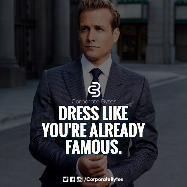 Dress like you are already famous