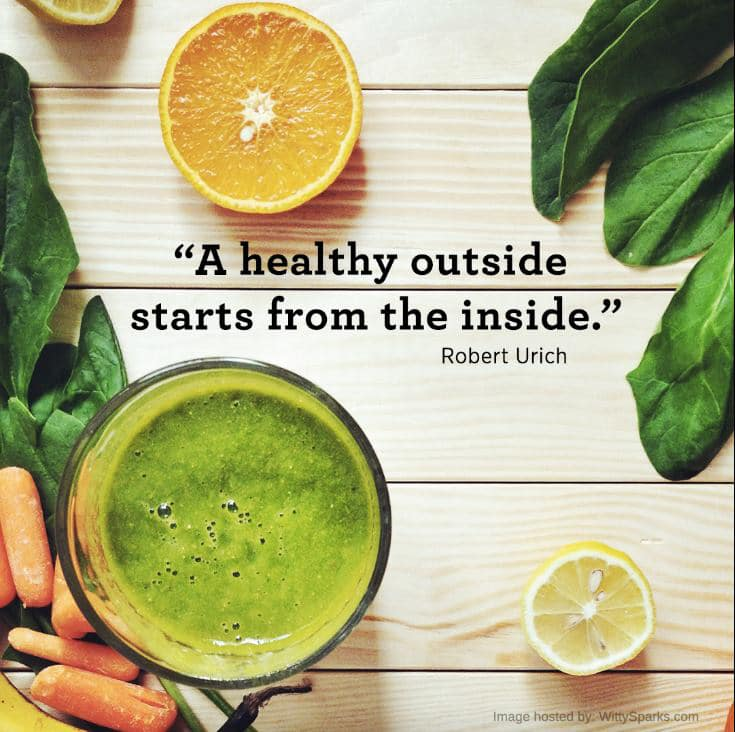 Healthy Outside and Inside