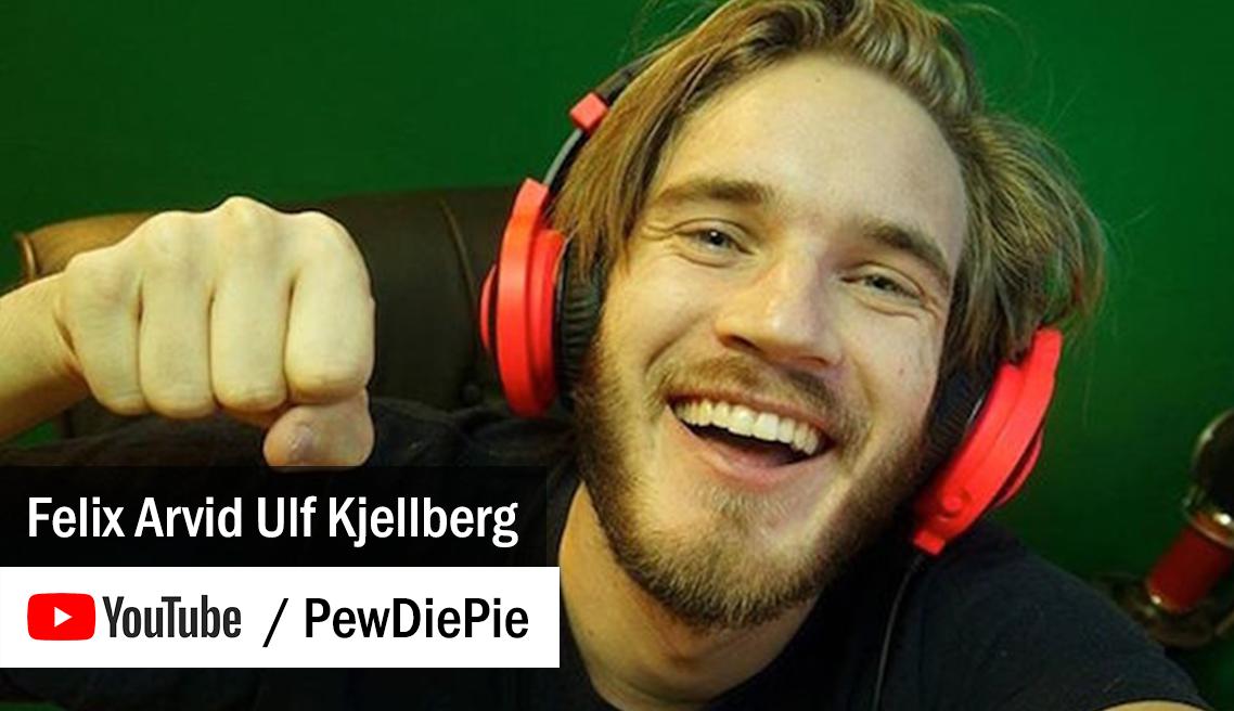 PewDiePie - Felix Arvid Ulf Kjellberg