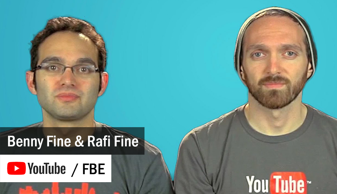 FBE - Fine Brothers Entertainment - Benny Fine and Rafi Fine
