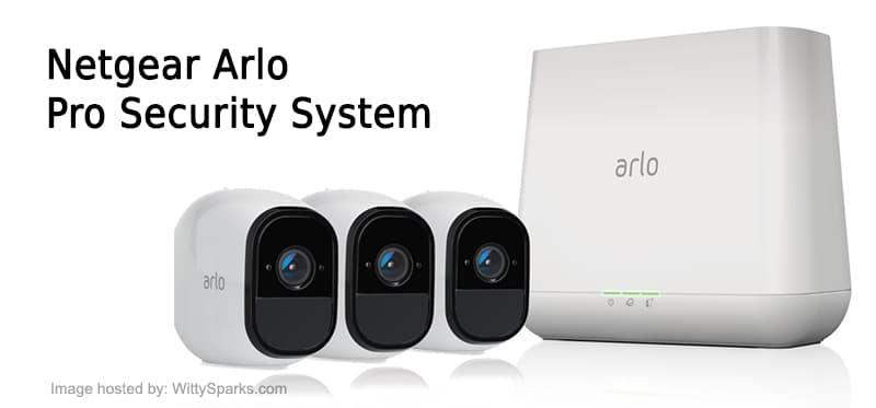 Netgear Arlo Pro Security System