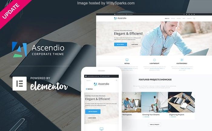 Ascendio - Corporate Responsive WordPress Theme