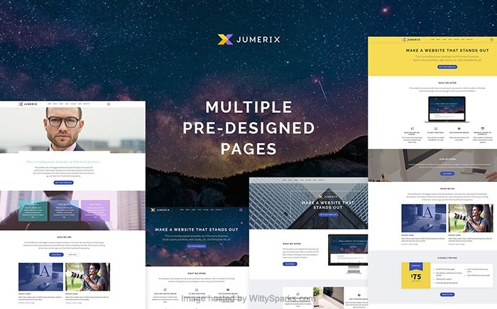 Jumerix - Multipurpose Joomla Template