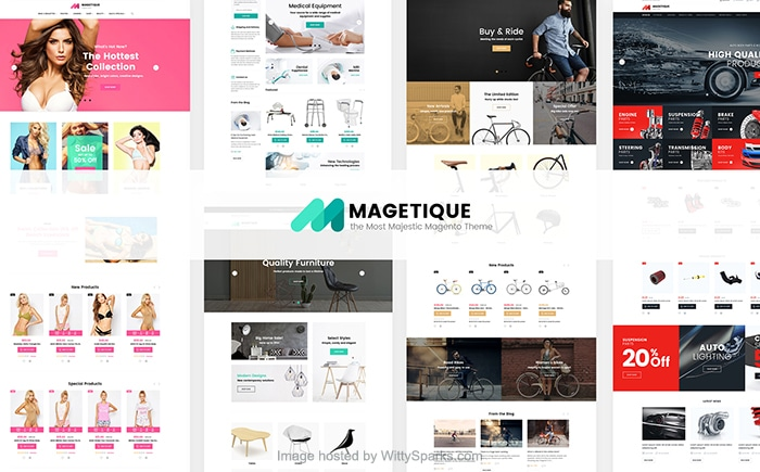 Magetique - Multifunctional Magento 2 Theme