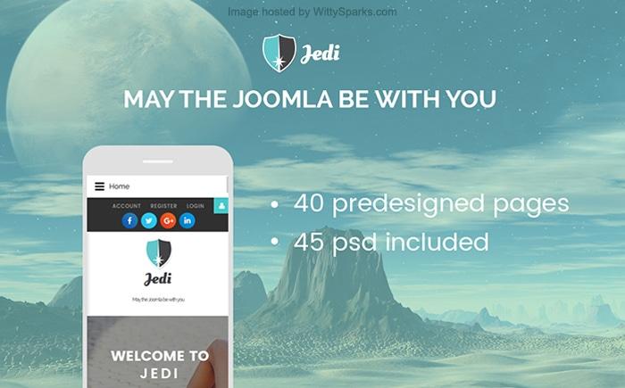 Jedi - Multipurpose Joomla Template