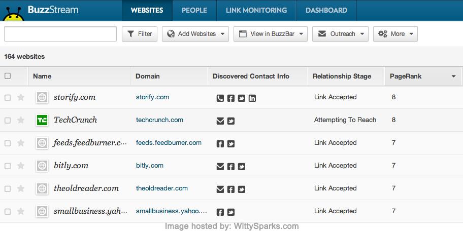 BuzzStream - Link Building and Digital PR Tools
