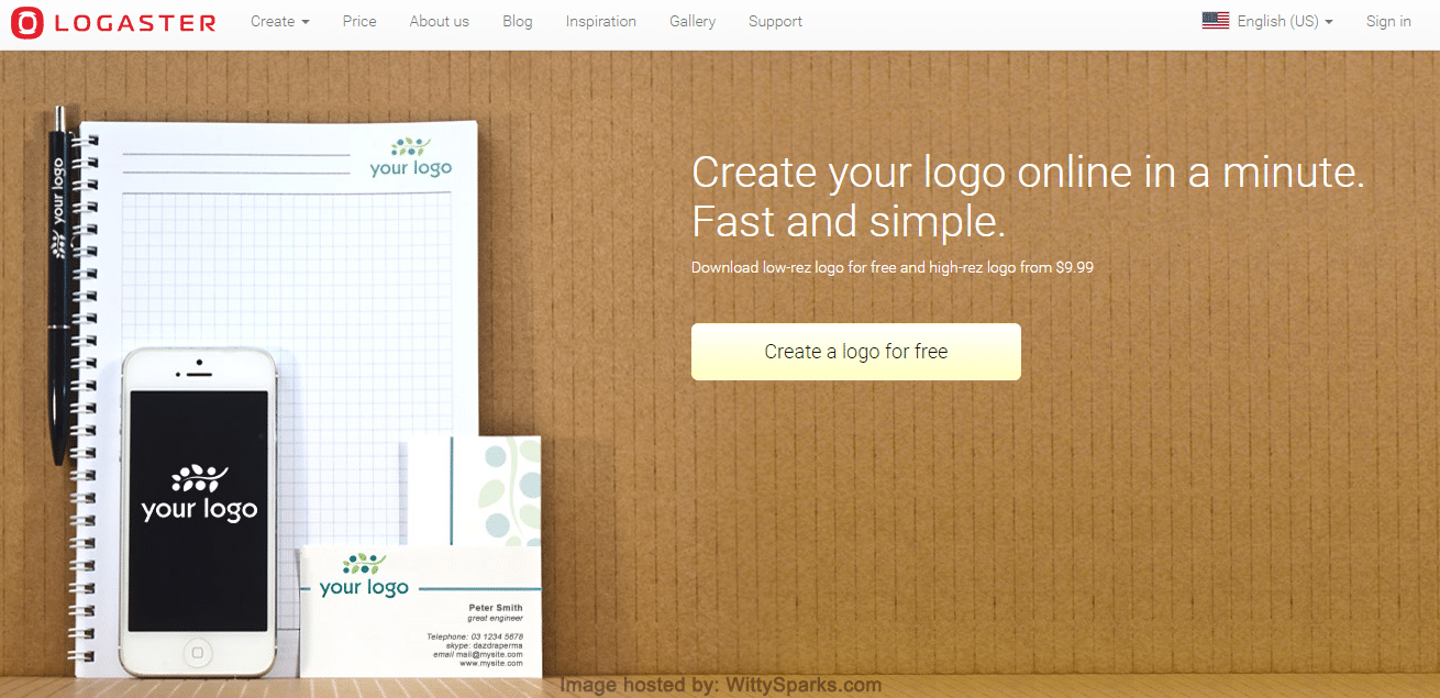 Logaster. Create Your Logo