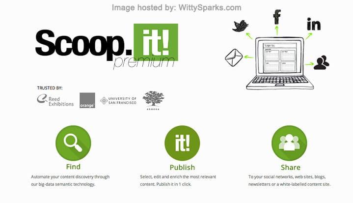 Scoop.it Premium Service