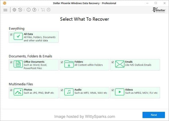 Windows Data Recovery - Softwares