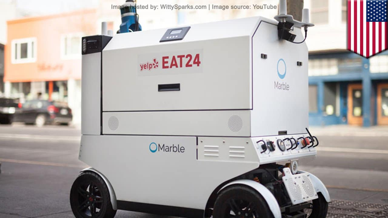 Marble - Robot Food Delivery by Yelp Eat24