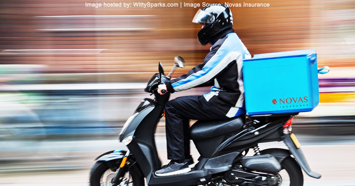 Novas Insurance - Motorcycle Courier