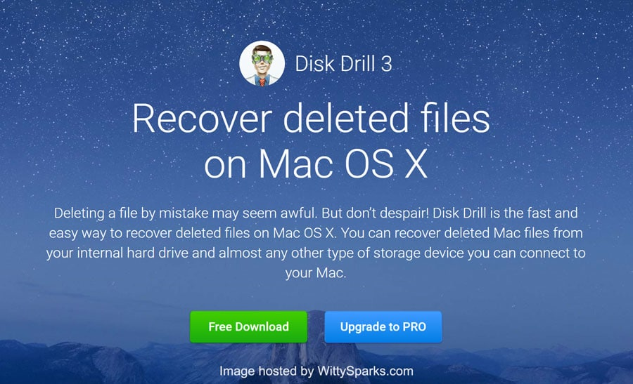Disk Drill Recover files from Mac - Download