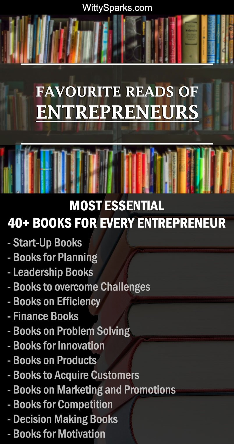 Favourite Reads of Entrepreneurs