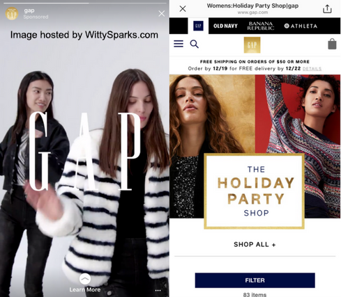 GAP - Instagram Marketing