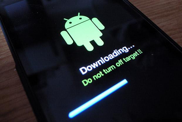 Android - Downloading Software Updates