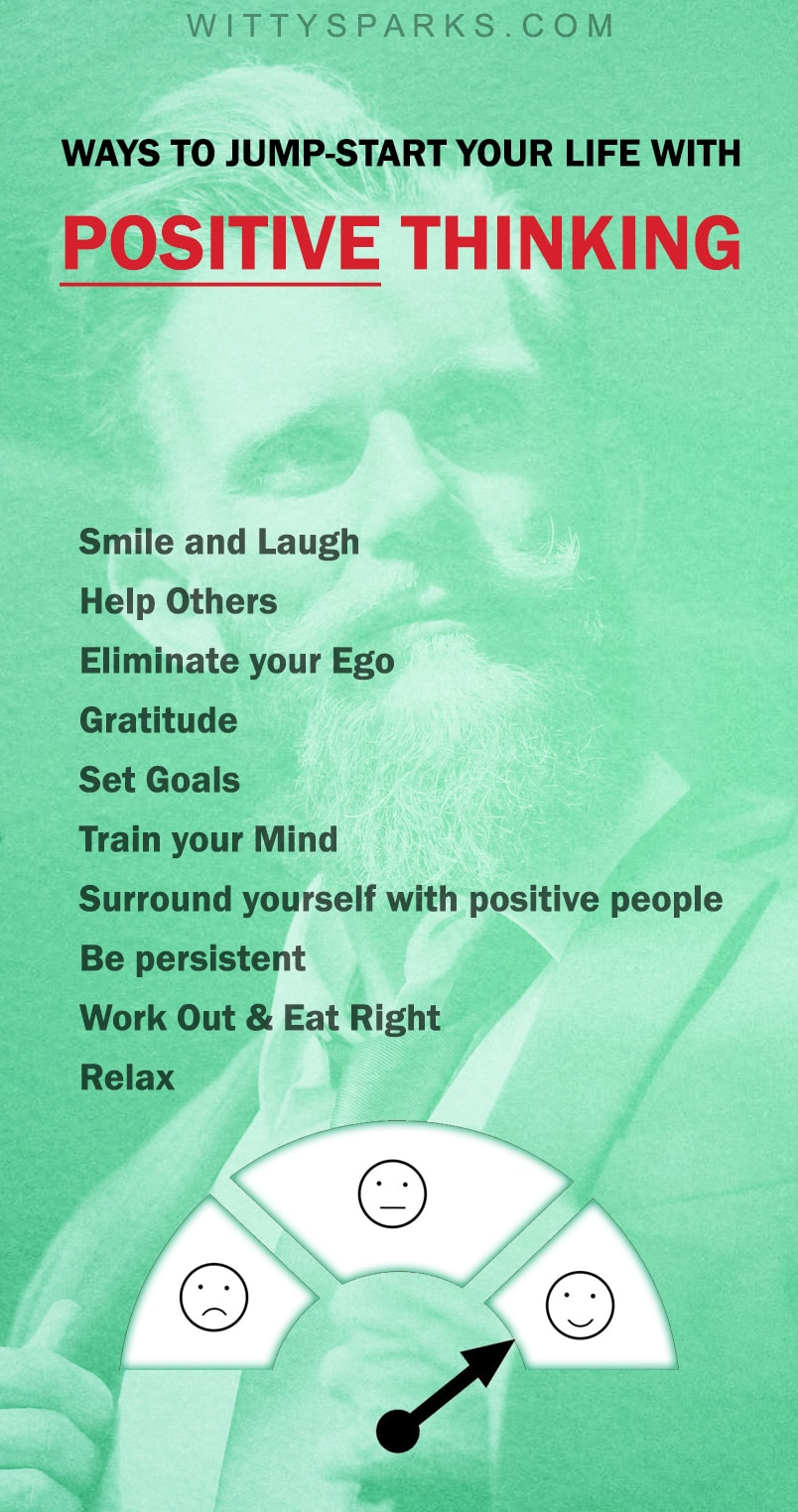 Ways to Jump-start Your Life With Positive Thinking